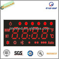 Display 4-stellig 7-segment-led- bewegliches zeichen für klimaanlage