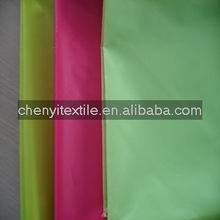 Use For Umbrella Or Tent 190T Polyester PU Coated Fabric
