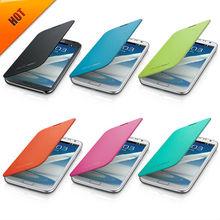 For Samsung Galaxy Note 2 Flip Cover Case Titanium Gray