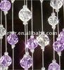 Beaded curtain /room dividers/ diamond cut acrylic /crystal jewel beads