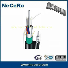 144 cores aerial self supporting optical fiber cable