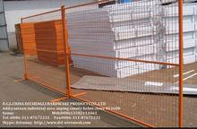 pvc coated canada temporary fence(china factory)