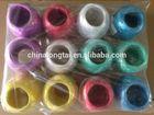 colorful pp raffia/ string film