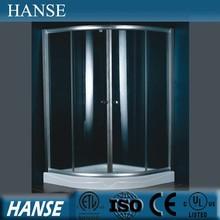 HS-SR005A popular design sliding door 8mm price cheap shower enclosures