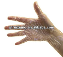 disposable plastic painting gloves