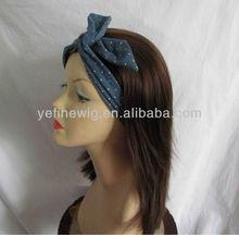 High Quality Mongolian Human Hair Band Fall Wig,Falls