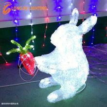 3D led motif decor rabbit