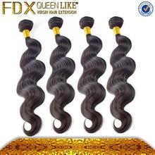 100% brazilian Hot heads hair ,black diamond hair human hair extensions