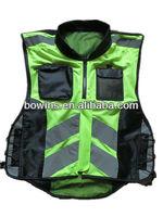High Visibility Reflective Safety Motorcycle Vest/safety jacket
