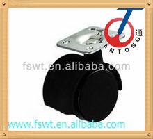 Light Duty Black PP Furniture Caster Wheel