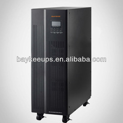 Baykee HTS Series Three Phase in Single Phase out 3/1 High Frequency 10 kva Online UPS Inverter
