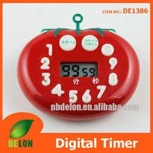 Tomato shape digital timer