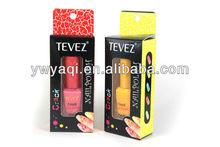 2013 nuevo de grietas esmalte de uñas en caja caja de Color único