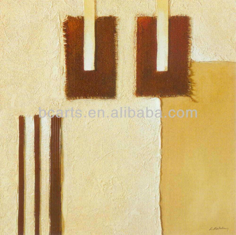 اليدوية الحديثة اللوحة الفنية التجريدية بسيطرخيص لديكور المكاتب، الصين رخيصة بيع اللوحة الفنية
