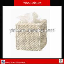 Decorative Home Furniture Rattan Basket Tissue Box Cover RB271