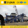 YHZS60 mobile concrete batching plant with Automatic control