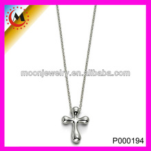 FASHION COLLEGE STYLE CROSS SILVER OM PENDANT, SILVER CROSS PENDANT JEWELRY HOT SELLING