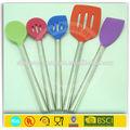 Colorato utensile domestico/silicone utensili da cucina set
