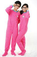 New All in one Pink lovers Pajamas Sleepsuit Sleepwear Pyjamas Onesie