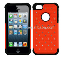"2013 new products crystal diamond mobile phone cover for iphone 5"" case/factory price sale for apple iphone 5 case"