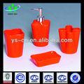 singular de cerámica roja de innovadores productos para el hogar cuarto de baño para el uso del baño