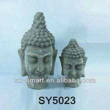 Shabby garden decoration life size buddha statue
