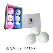 B113-2 top grade tournament golf balls