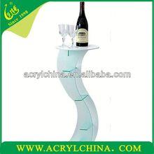 Hot sell Acrylic Wine bottle holder single wine bottle holder wholesale2015