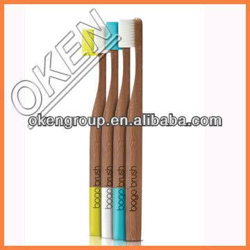 100% Biodegradable OEM Bamboo Toothbrush