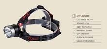 T6 LED 10W 3 Mode Adjustable Rechargeable 18650 Headlight ZT6502