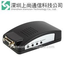 RCA Composite S-video VGA to VGA Monitor Converter