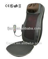 car seat massage cushion/electric seat massage cushion/neck and back massaging cushion