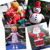 inflatable cartoon,inflatable mascot,advertising Christmas cartoon