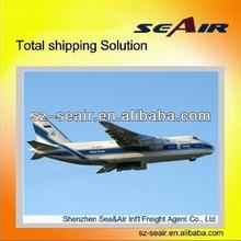 Europe air shipping cargo express line from Guang zhou