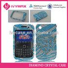 luxury diamond mobile phone crystal case for blackberry 8520 cellular