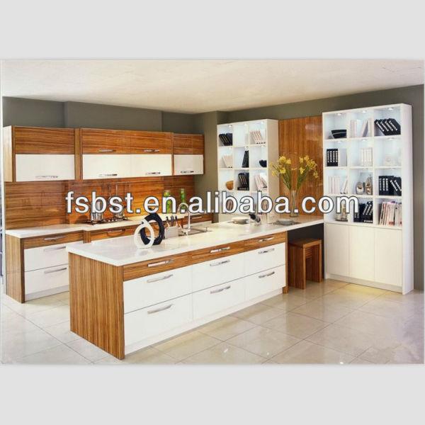 Ak151 kleine open keuken modern design met kookeiland in china keuken kasten product id - Keuken met wijnkelder ...