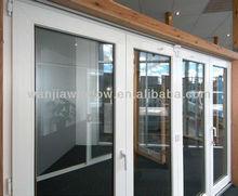 Cheap price pvc casement door commercial used pvc window and door