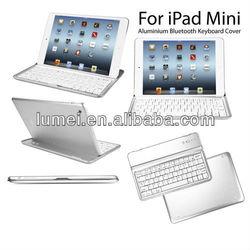 Aluminium Bluetooth Keyboard Cover Case FOR Apple iPad Mini