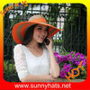 Wholesale wide brim summer hats for lady and women
