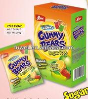 sugar free halal vitamins gummy bears