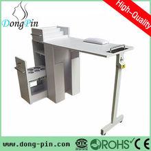 foldable salon manicure table/nail technician table