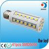 high lumen high quality 41 smd 5050 led corn light bulb e27 8w