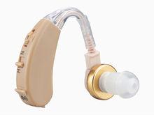 BTE ear hearing aid for helping deafness