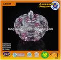 colorido diseño de la flor de cristal en contenedores de regalo