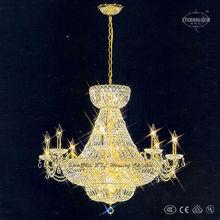 Unique gold color Empire classical crystal chandeliers ETL80007B