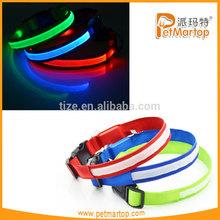 2015 pet led collars TZ-PET5200, super bright LED new design