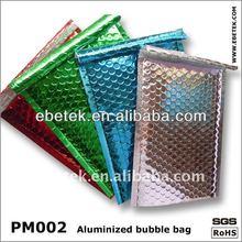 Metallic bubble mailer ,waterproof poly envelop