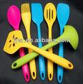 De caucho de silicona cuchara/utensilios de cocina/batería de cocina