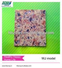 double color Quartz stone model