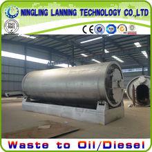 16mm Q245R boiler plate scrap tyre pyrolysis plant in india